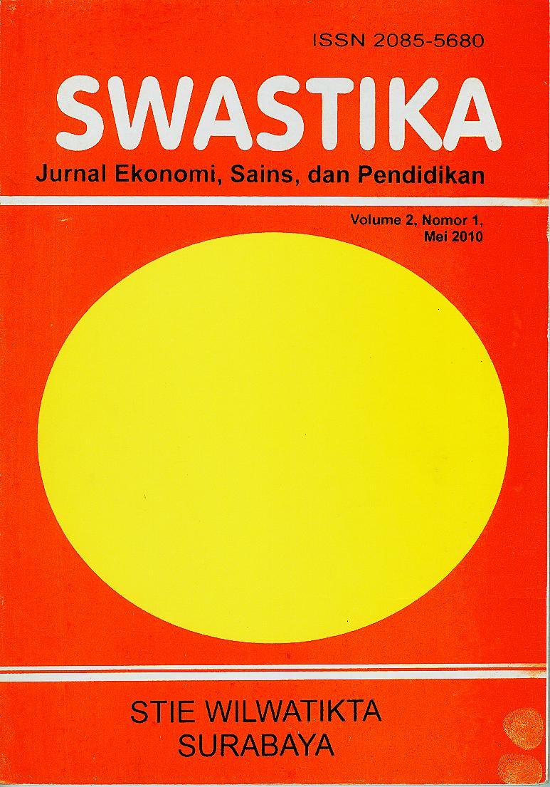 Swastika Volume 2 Nomor 1 Mei 2010